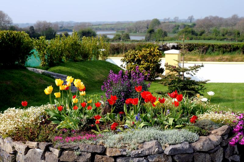 Front garden with views over tidal river