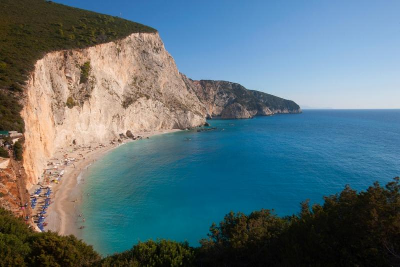 The world famous PORTO KATSIKI beach, only 3 km away from the house.