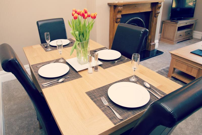 Six Seater dining table (additional chairs available)