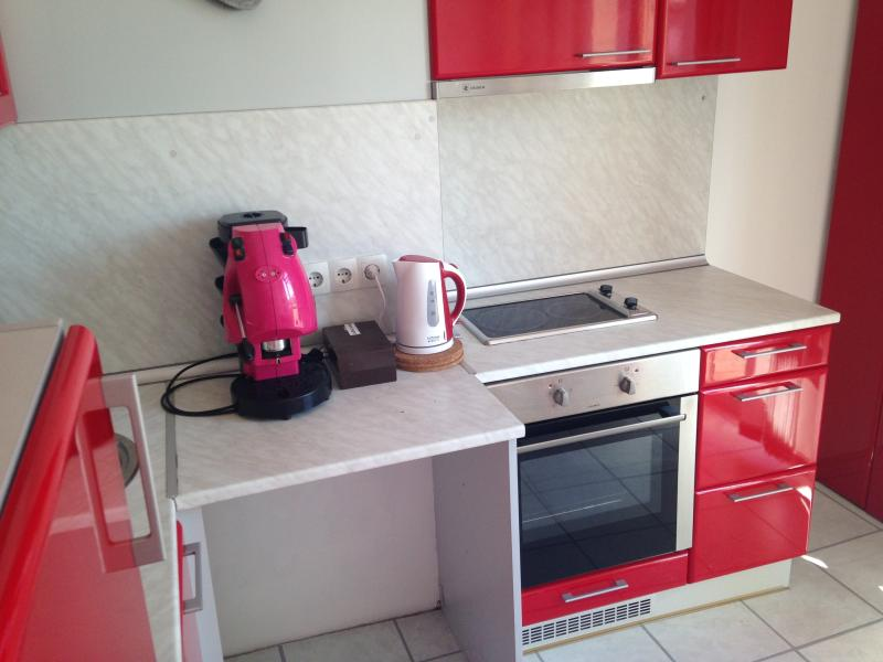 The kitchen equipment is new and easy to use. We provide the coffee for yoyr stay.