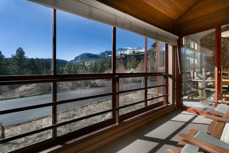 Enclosed Balcony With Great Views