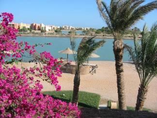 View to lagoon