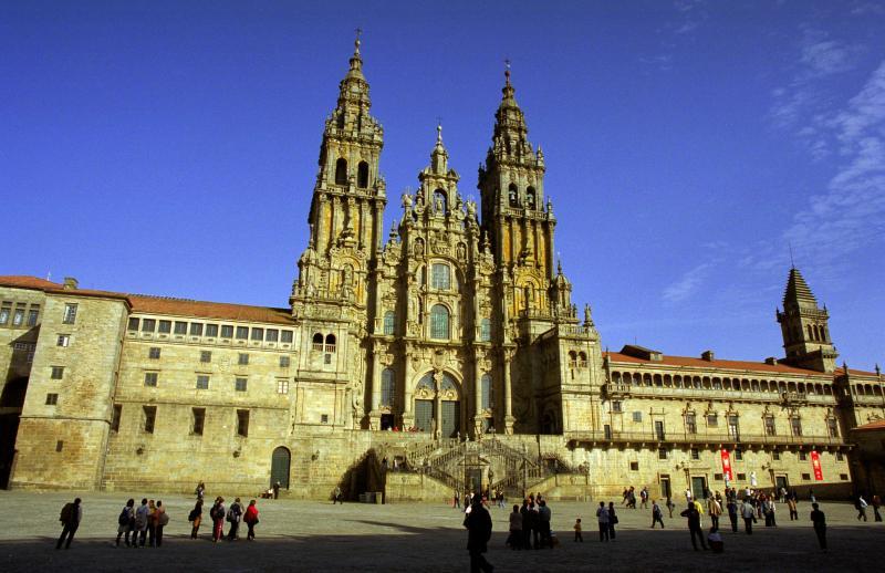 Cathedral of Santiago de Compostgela's day