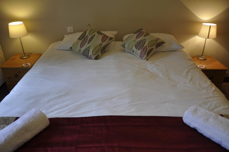 One of five bedrooms, four with king sized double beds, one with two bunk beds