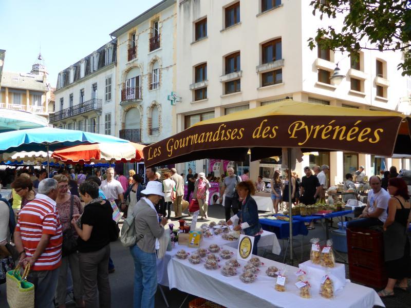 Local town of Bagneres de Bigorre