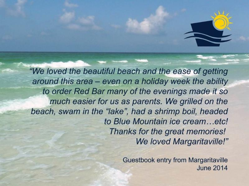 Entry Margaritaville Guestbook