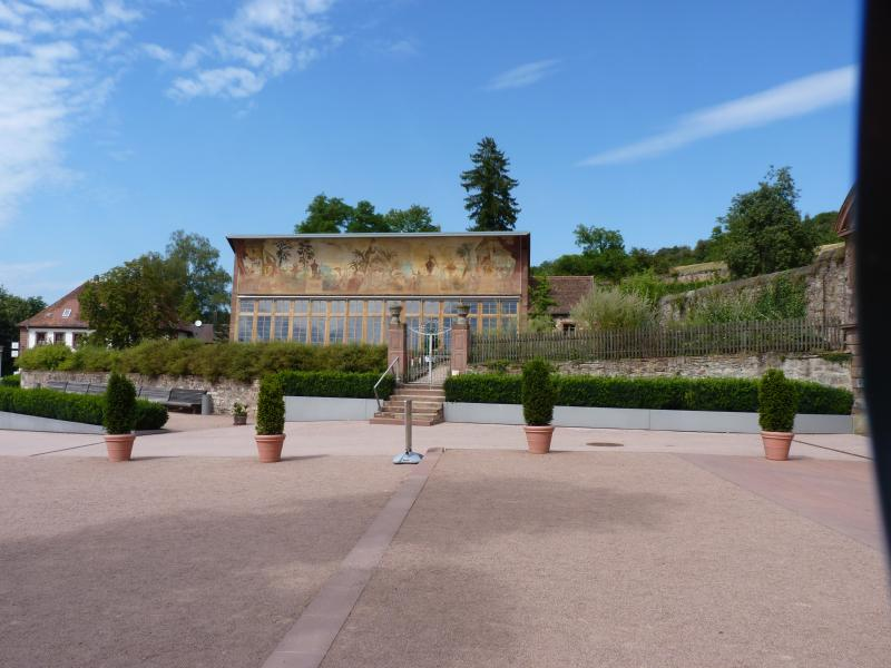 Destination monastery Bronnbach