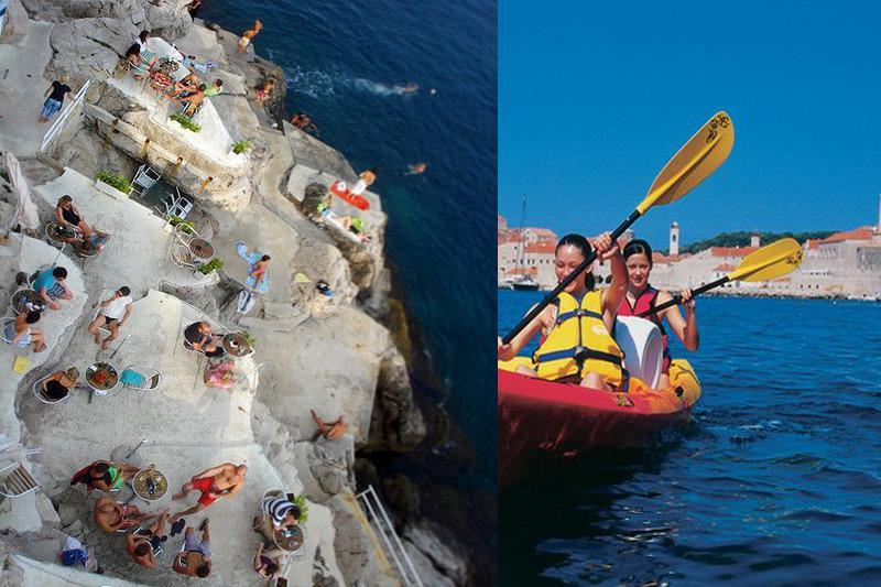 kayaking in Dubrovnik