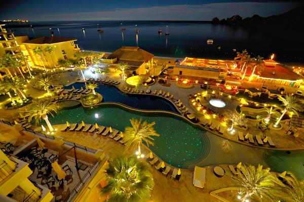 Beautiful night view from your balcony