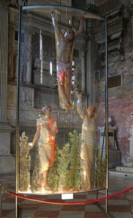 Opera in vetro di Ghisetti a SS:Giovanni e Paolo