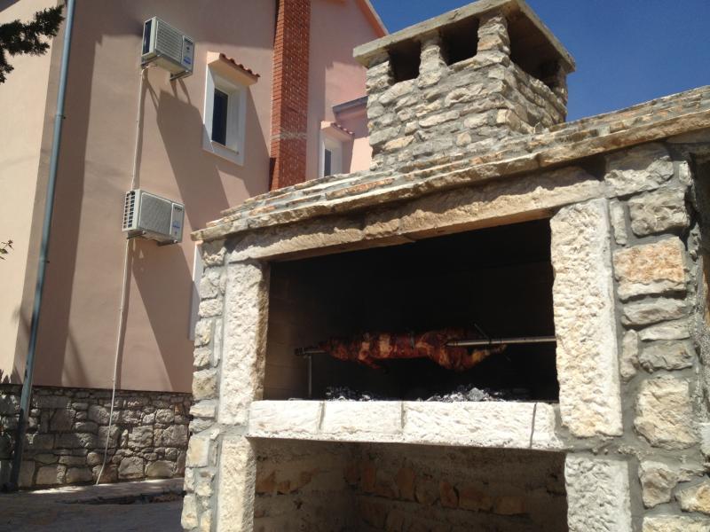 big outdoor grill