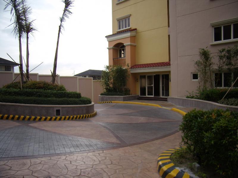 A entrada para Villa