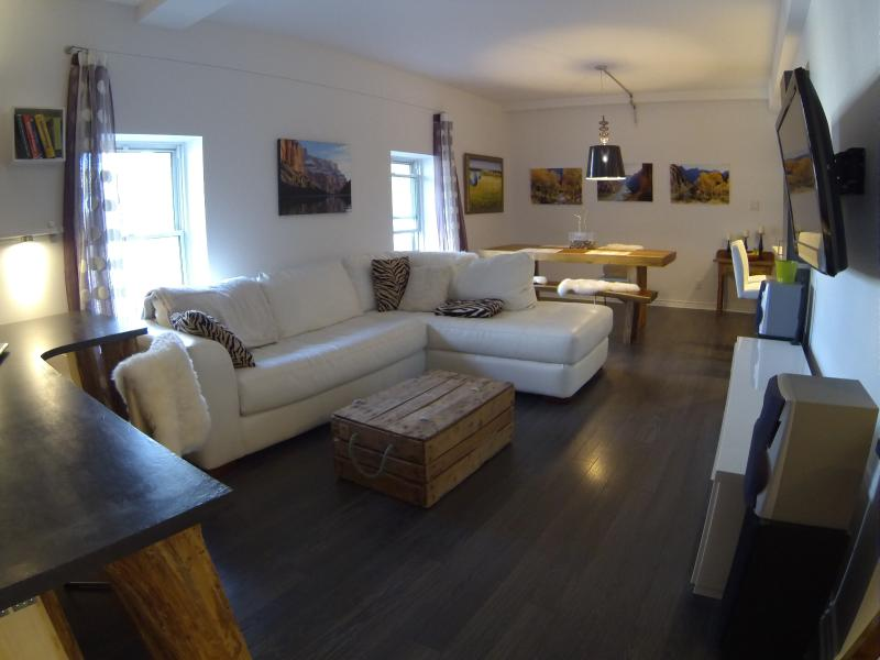 Glorious loft, vacation rental in Quebec City