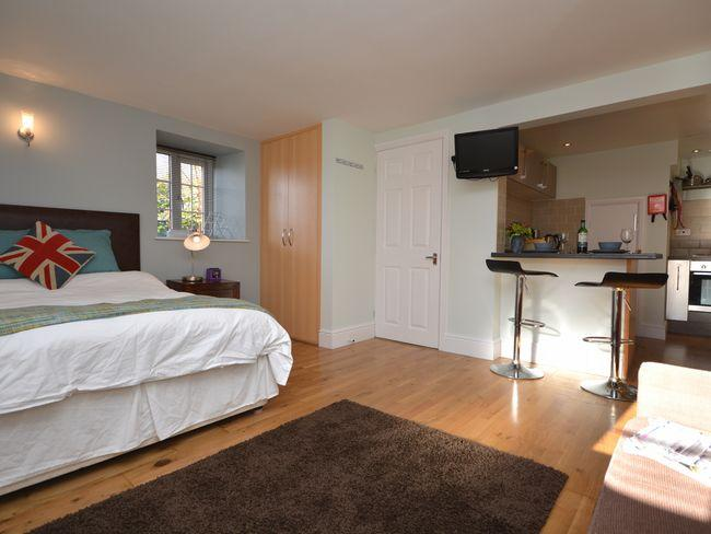 Open-plan studio style apartment