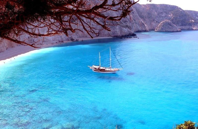 Les iles grecques en goelette