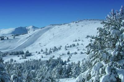 Pistes de ski de La Calme