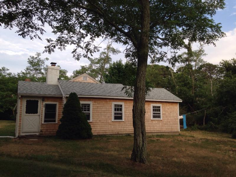 Newly shingled cottage; large private lot