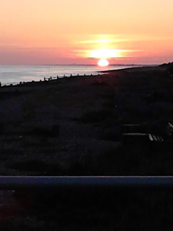 Sunset on Ferring Beach