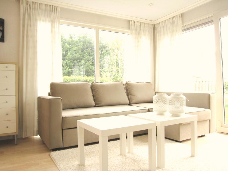Lovely spacious living room with plenty of sun light coming in