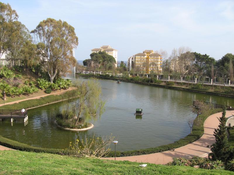 Lake At The Park