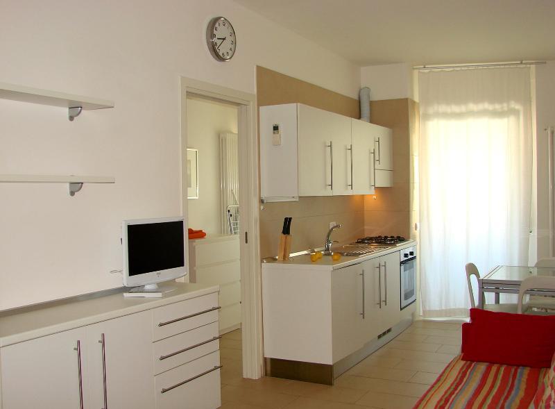 Residenza Argento bilo B balcone e vista mare, vacation rental in Peglio