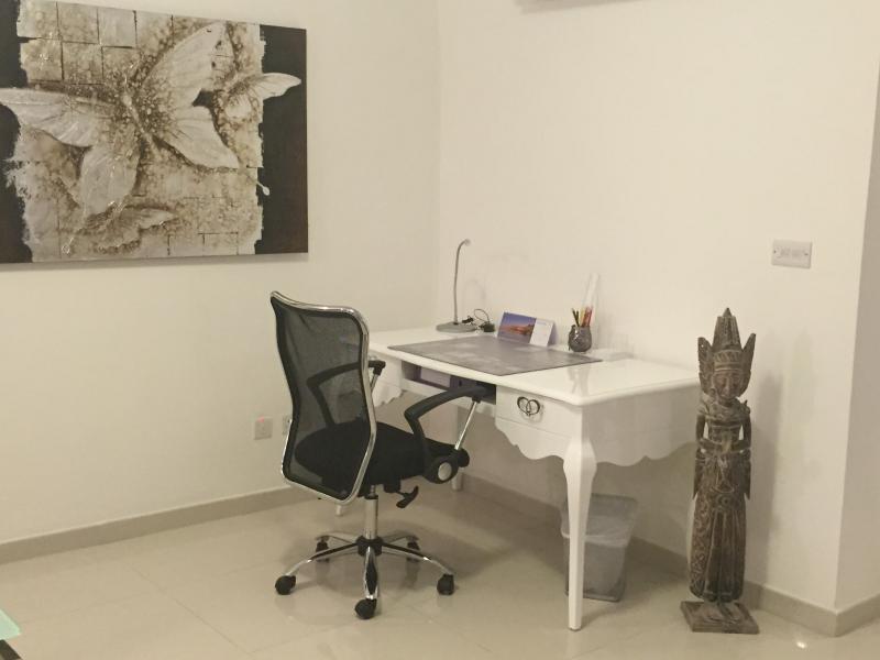 área pouco' escritório'
