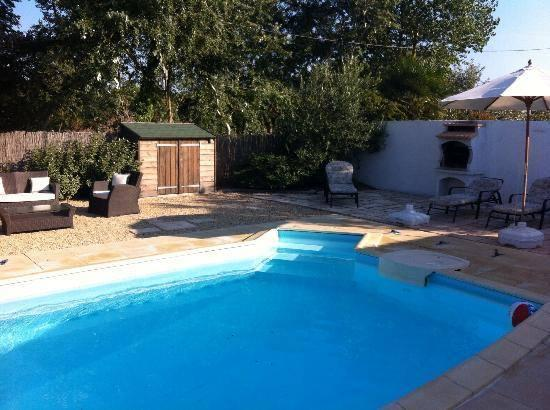 The garden and private pool area is fully enclosed and for exclusive use of guests.
