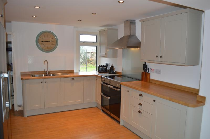 Kitchen - range oven with induction hob