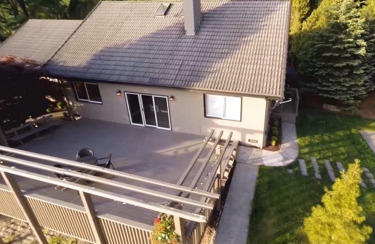 Vue Arial de maison de l'immobilier