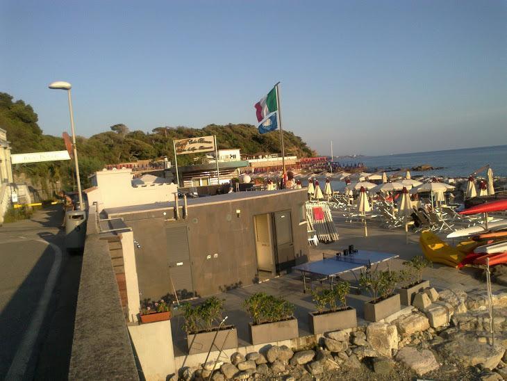 Paesaggio turistico - Stabilimento balneare