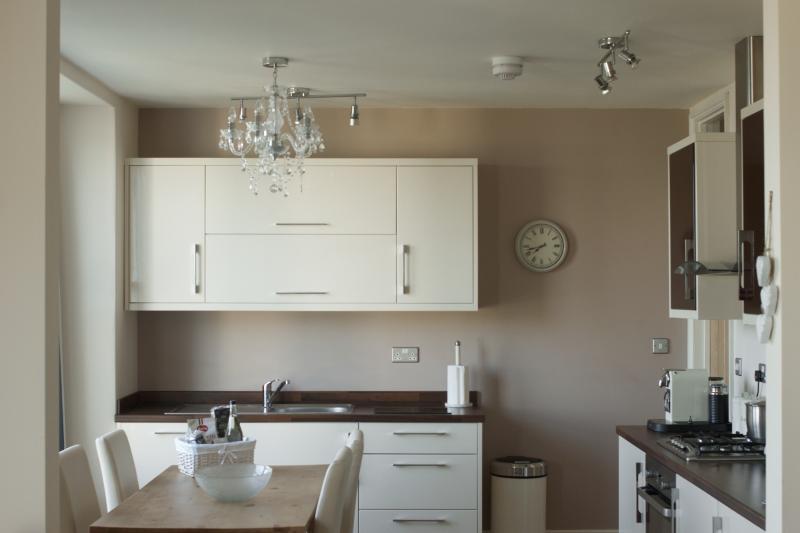 Luxury Fitted Kitchen With Nespresso Coffee Machine