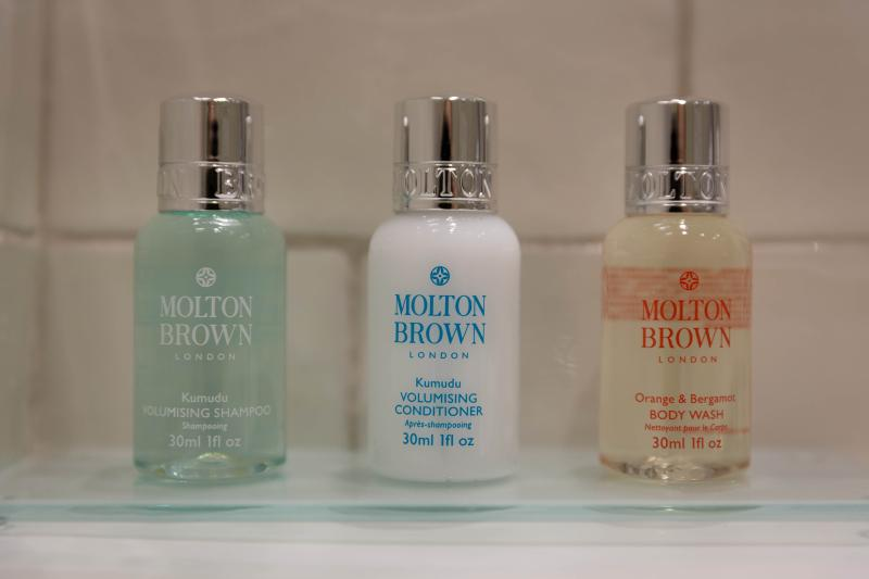 ...enjoying the MOLTON BROWN amenities that you'll find at your arrival.