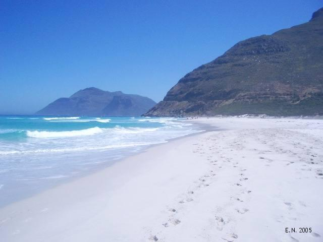 Noordhoek beach is 5 minutes away
