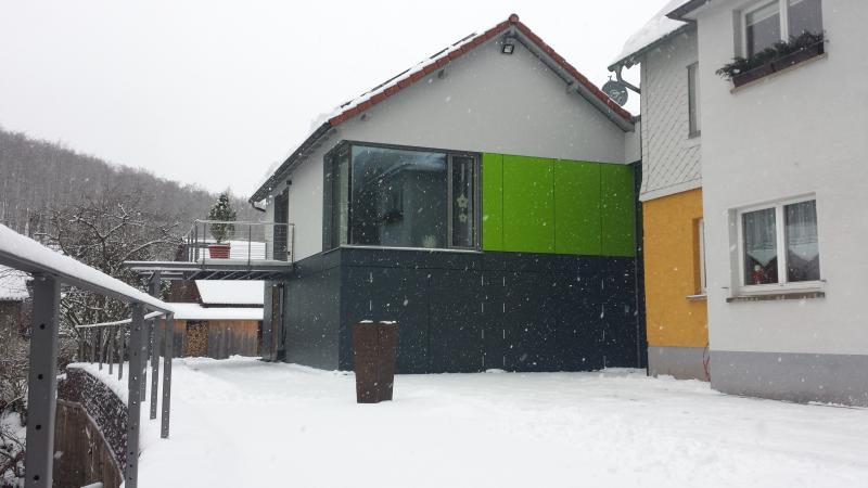auch im Winter lädt Haus Sembachtal zum entspannen ein