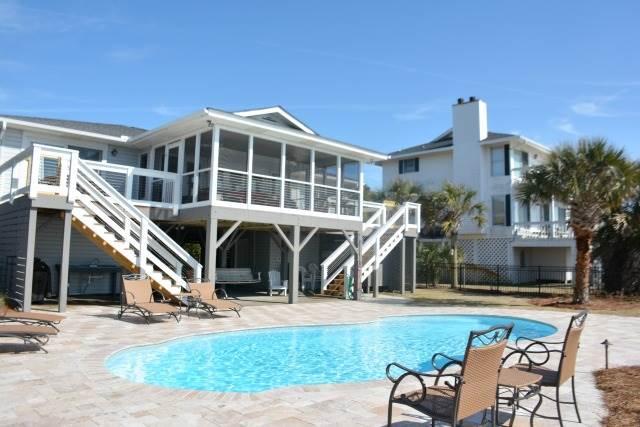 3328 Palmetto Blvd - 'Carolina Sunset', aluguéis de temporada em Edisto Island