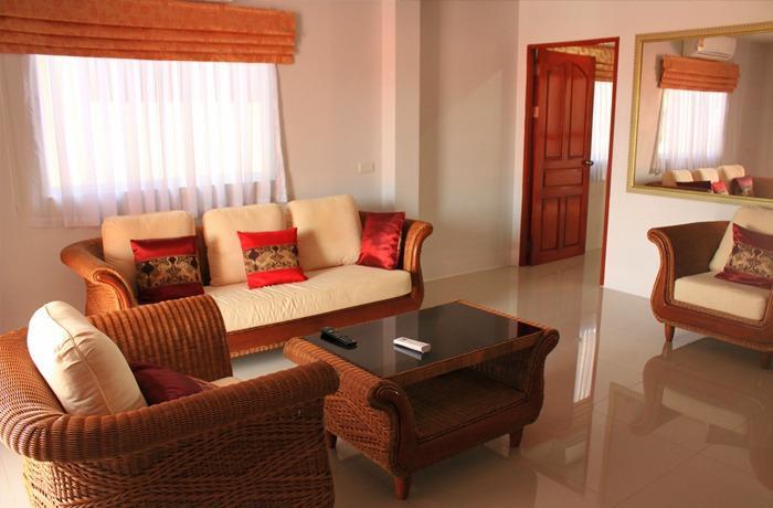 Top Floor Sea View, holiday rental in Bang Sare