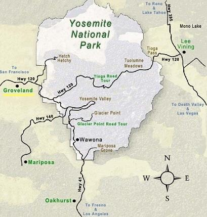 Groveland to Yosemite....just 26 miles to the gate entrance