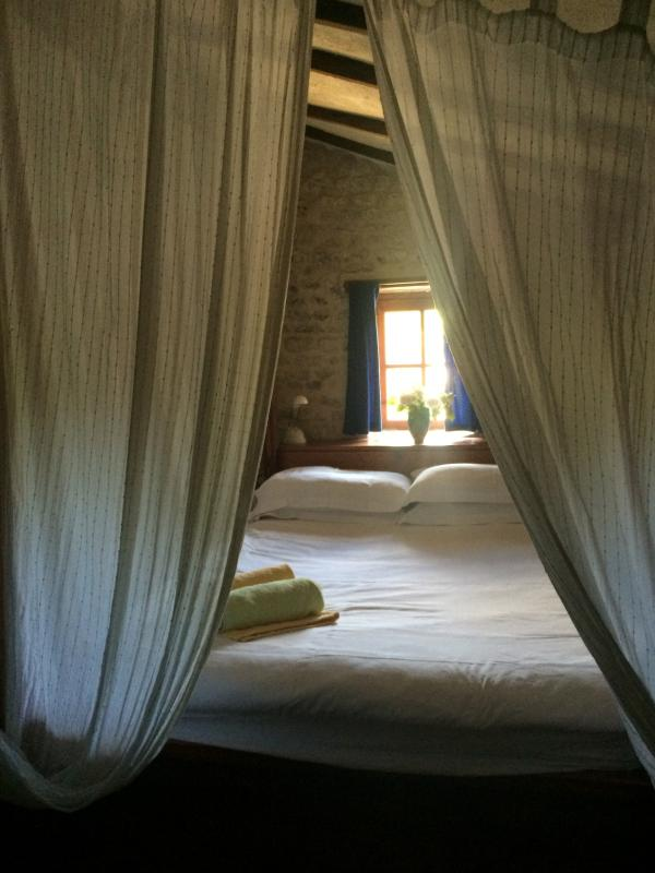 Four poster beds feature in all our cottages. Most are super-king size with oak frames