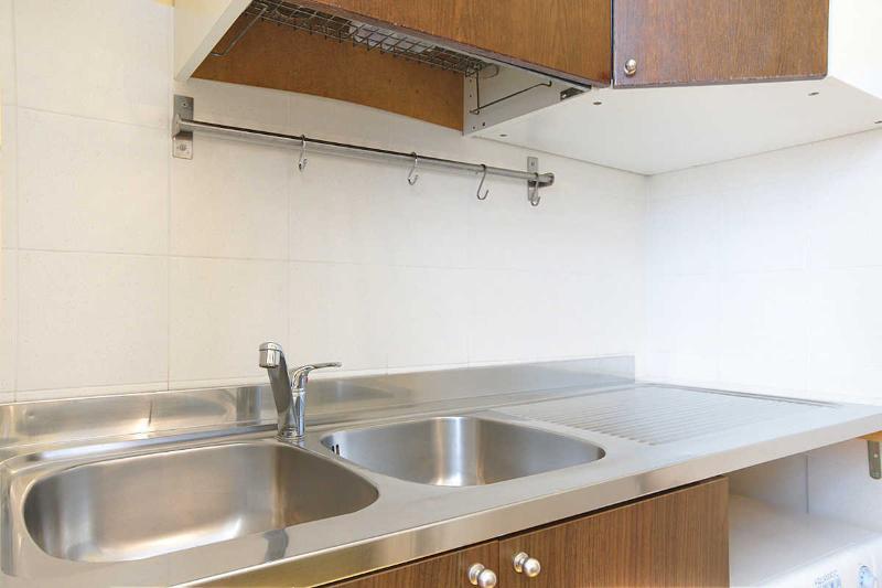 Rom-Schlaf-Startseite-Küche