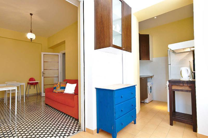 Rome Sleep Home kitchen & living room