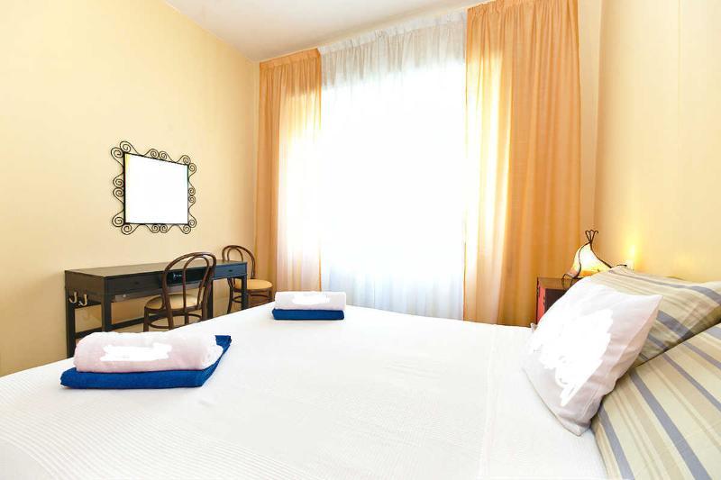 Rom-Schlaf-Startseite orange Zimmer