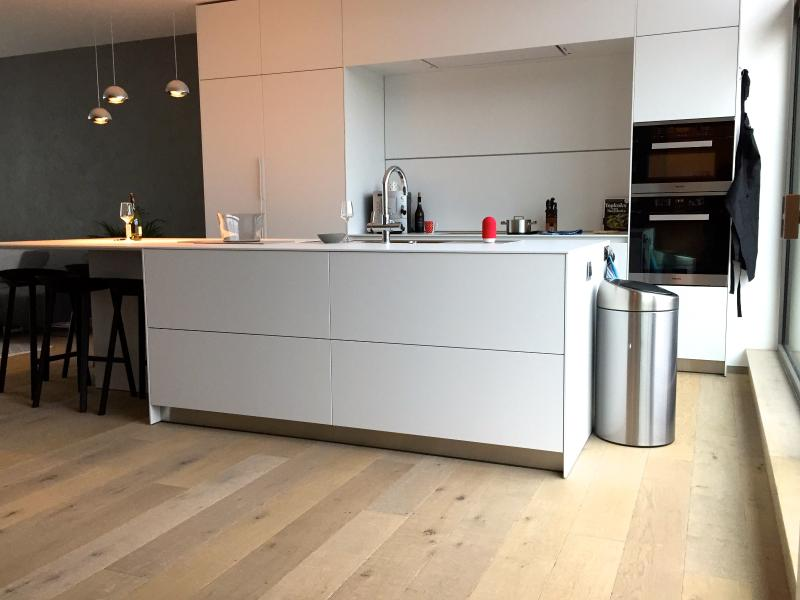 Modern, open kitchen with high quality equipment