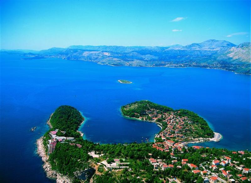 Cavtat from the air.