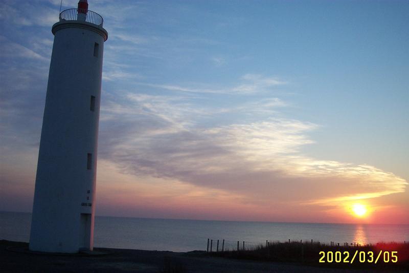 Le phare de Terre Fort