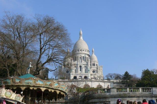 The  heart of Montmartre, Place des Abbesses near the 'Sacré-Coeur'
