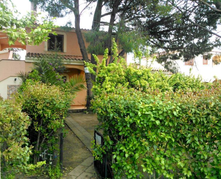 Aan de voorkant tuin en entree-Front Yard en ingang