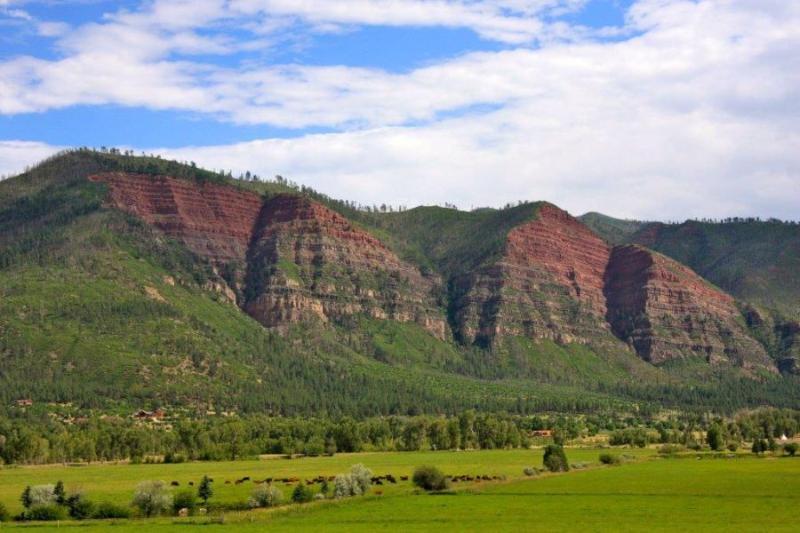 Ongelooflijke uitzichten vanaf Whitewater Ranch