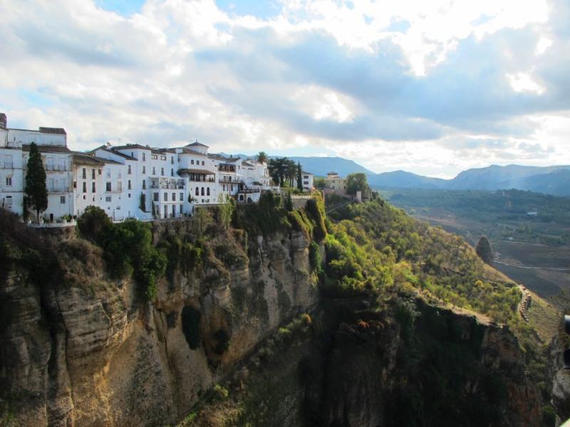Vejer de la Frontera, 15 km. Fantastic for a day trip. Gorgeous views.