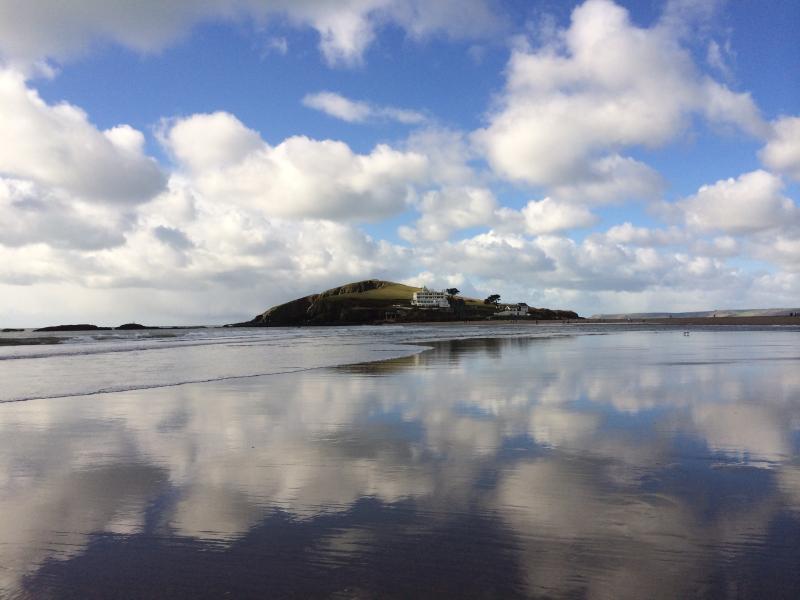 Reflections of Burgh Island