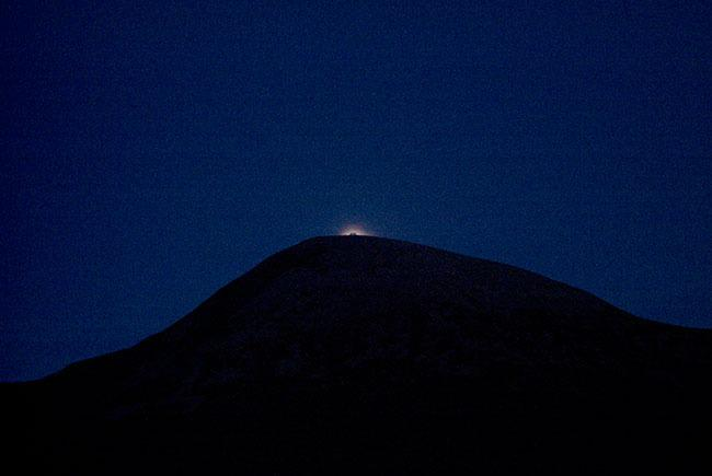 Moonrise over Croagh Patrick